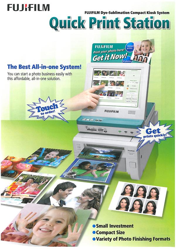 Fuji-Quick Print Station + Impresora ASK-300 + Software | RJB ...