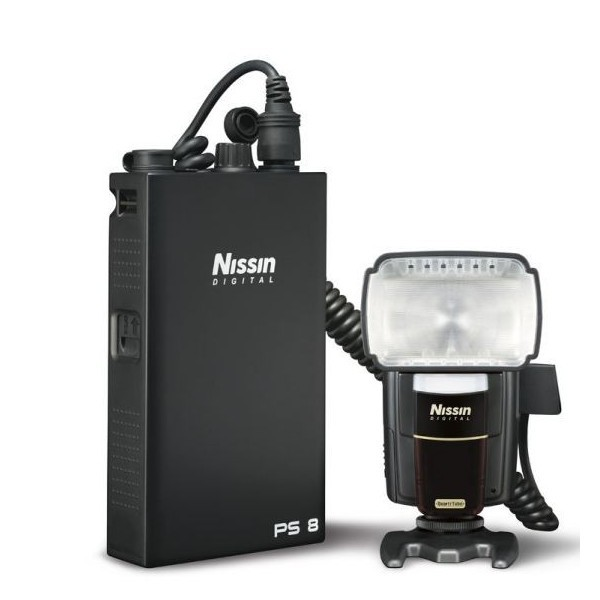 Nissin-Flash MG 8000 Extreme P/Canon + Power Pack PS8