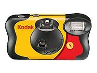 Kodak-Cámara Usar/Tirar Fun C/Flash 27 Fotos
