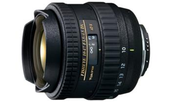 Tokina-Objetivo 10-17mm F/3.5-4.5 Fish Eye Full Frame P/Canon