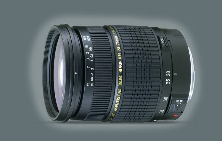 Tamron-Objetivo SP AF 28-75mm F/2.8 XR Di LD Aspherical [IF] MACRO P/Canon