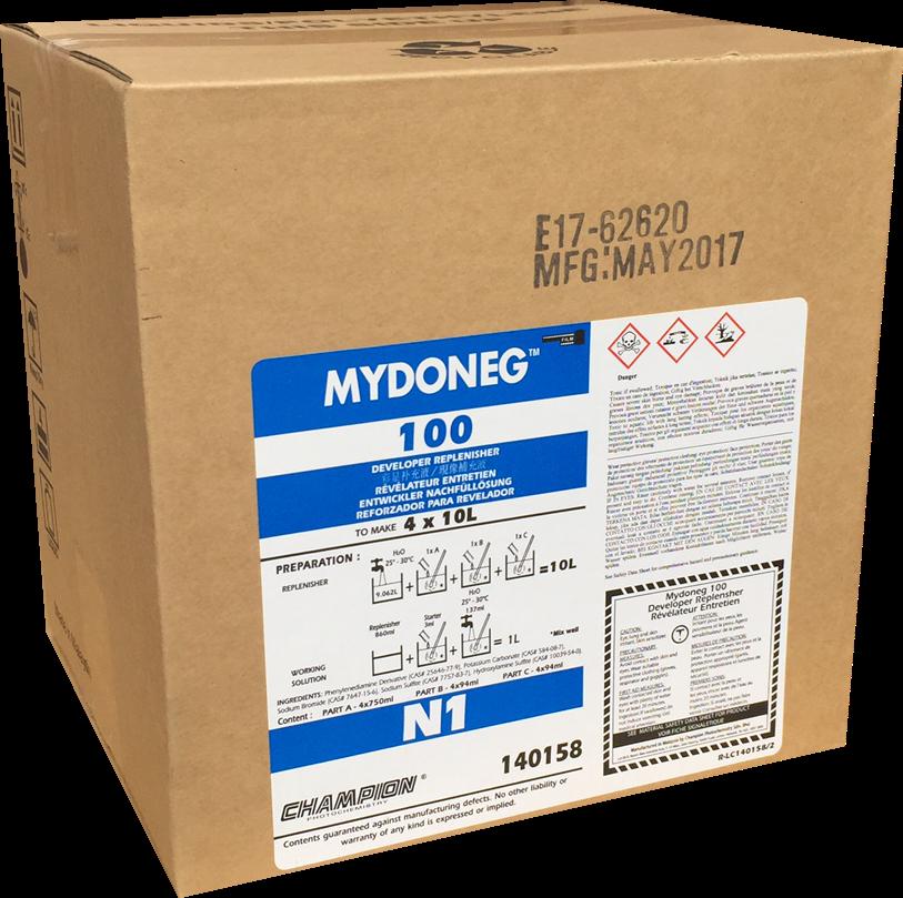 Champion-Mydoneg RA Developer (3 partes) 4×10 Litros (C41 RANP / CN16-L / CN16-FA)