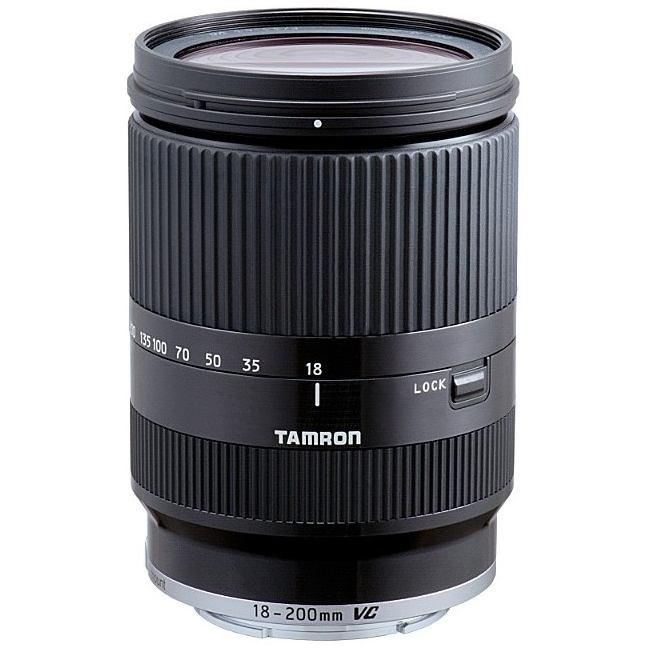Tamron-Objetivo 18-200mm F/3.5-6.3 Di III VC / Canon M – Negro