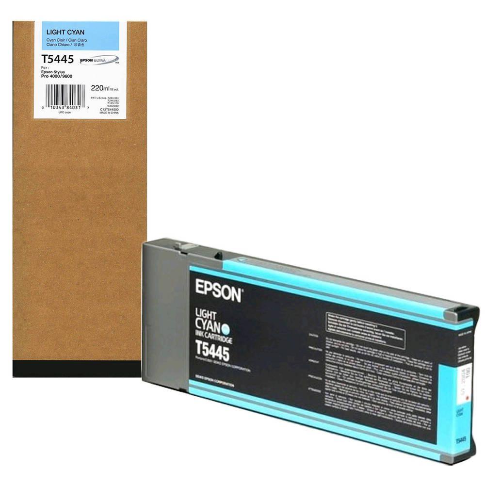 Cartucho de Tinta EPSON 220 ml- T5445 Cian Claro (7600/9600)