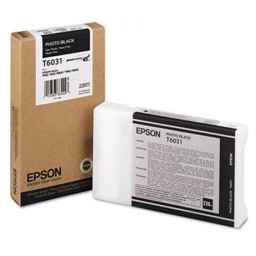 Cartucho de Tinta EPSON 220 ml- T6031 Negro Foto (7800/9800/7880/9880)