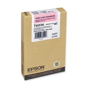 Cartucho de Tinta EPSON 220 ml- T6036 Vivid L. Magenta (7800/9800/7880/9880)