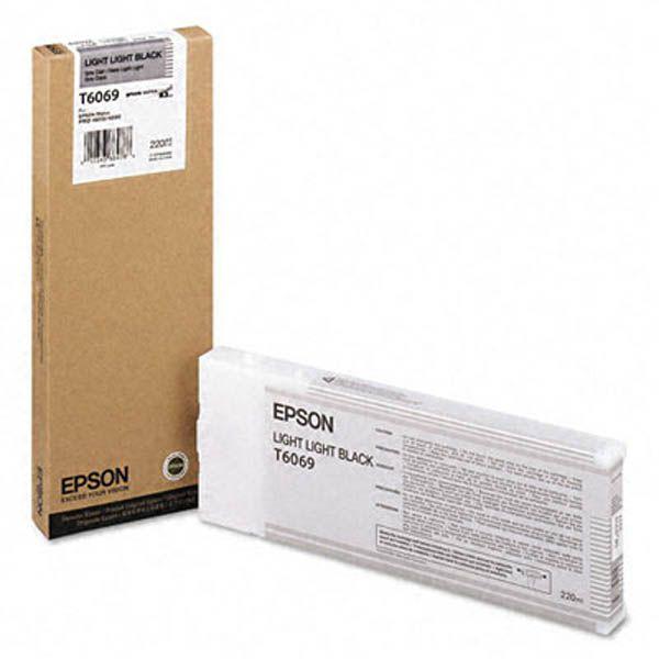 Cartucho de Tinta EPSON 220 ml- T6069 Gris Claro (4800/4880)