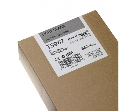 Cartucho de Tinta EPSON 350 ml- T5967 Gris (7900/9900/7890/9890/7700)