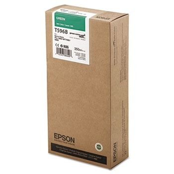 Cartucho de Tinta EPSON 350 ml- T596B Verde (7900/9900/7890/9890/7700)