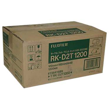 Fuji-Papel RK-D2F1200 10×15 ASK-2000/ASK-2500