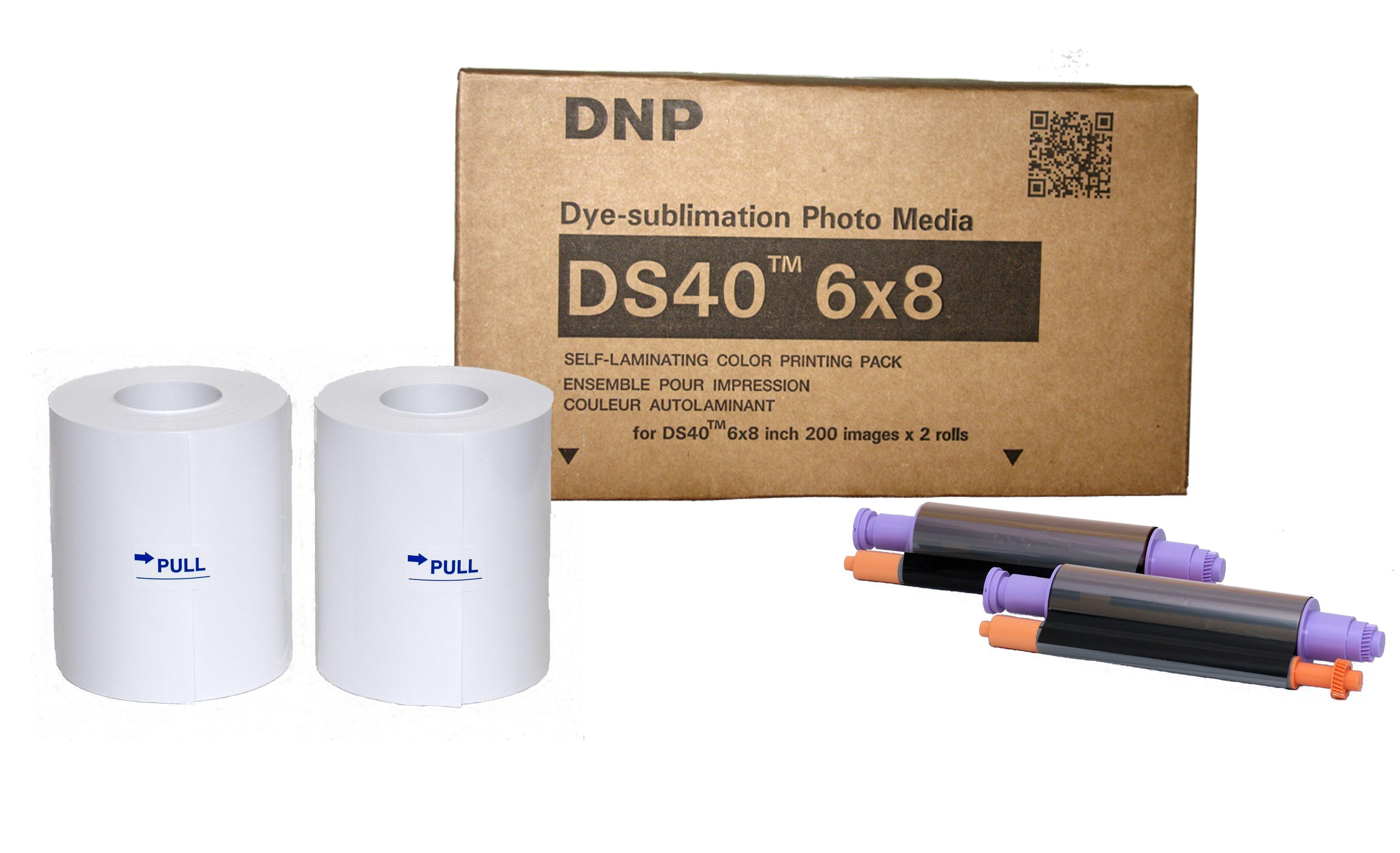DNP-Papel DS40 15x20cm 400 Fotos