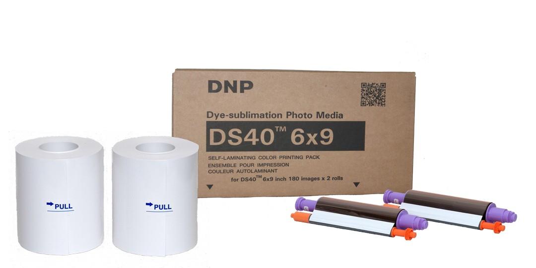 DNP-Papel DS40 15x23cm 360  Fotos