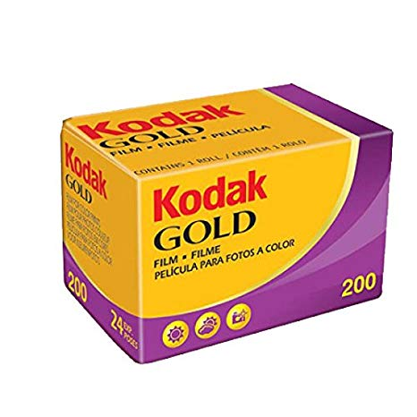 Kodak Carrete Película Negativo Gold 200 ISO 135/36