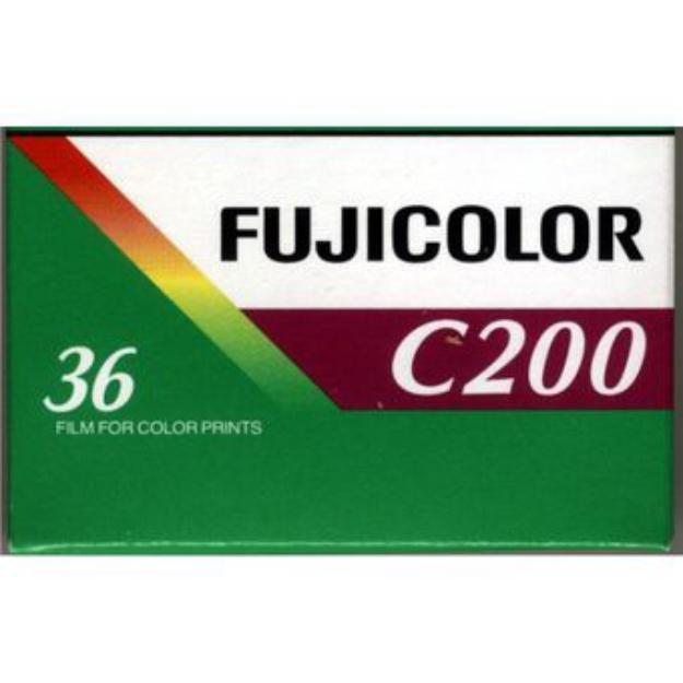 """Fuji Carrete Película Negativo """"C"""" 200 ISO 135/36"""