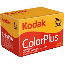 Kodak Carrete Película Negativo Colorplus DB 200 ISO 135/36