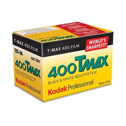 Kodak Professional Película Negativo Blanco y Negro ISO 400 TMAX 135/36