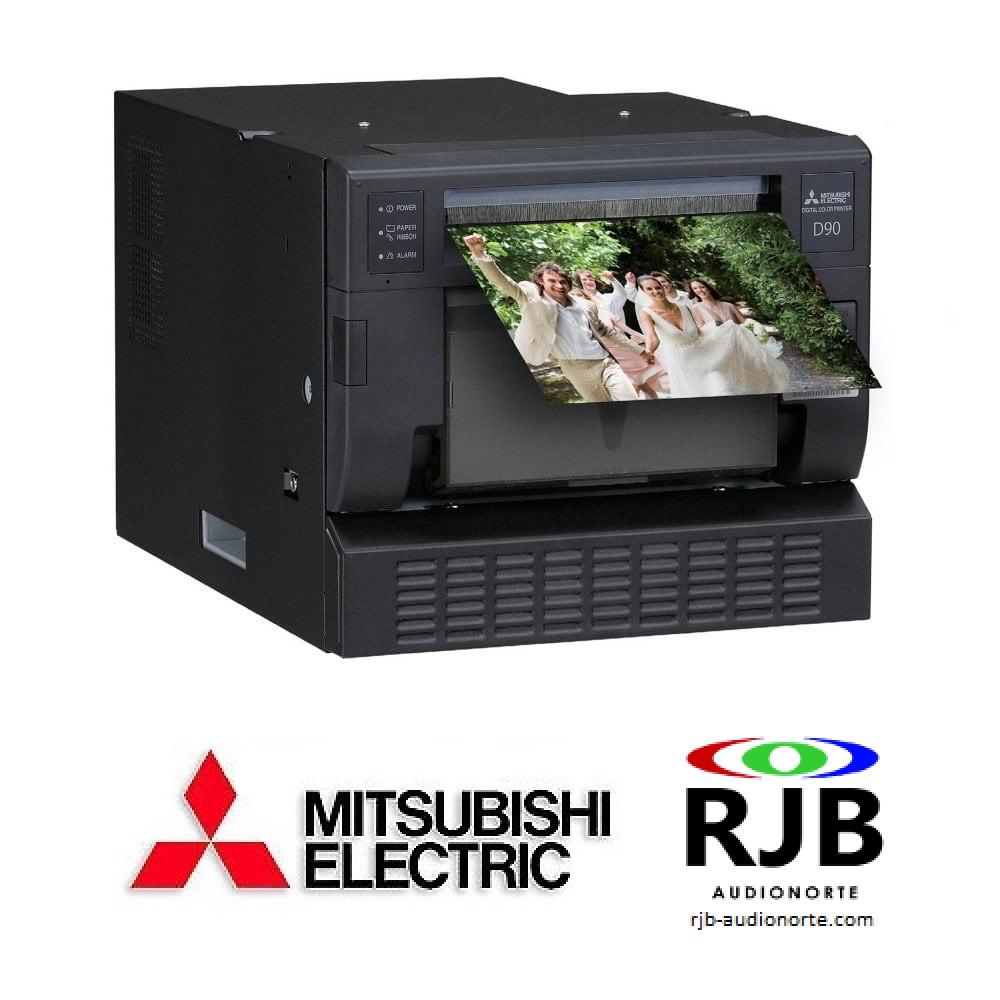 Impresora Mitsubishi CP-D90DW-P con Panorámica y MiniPrints Plan Renove