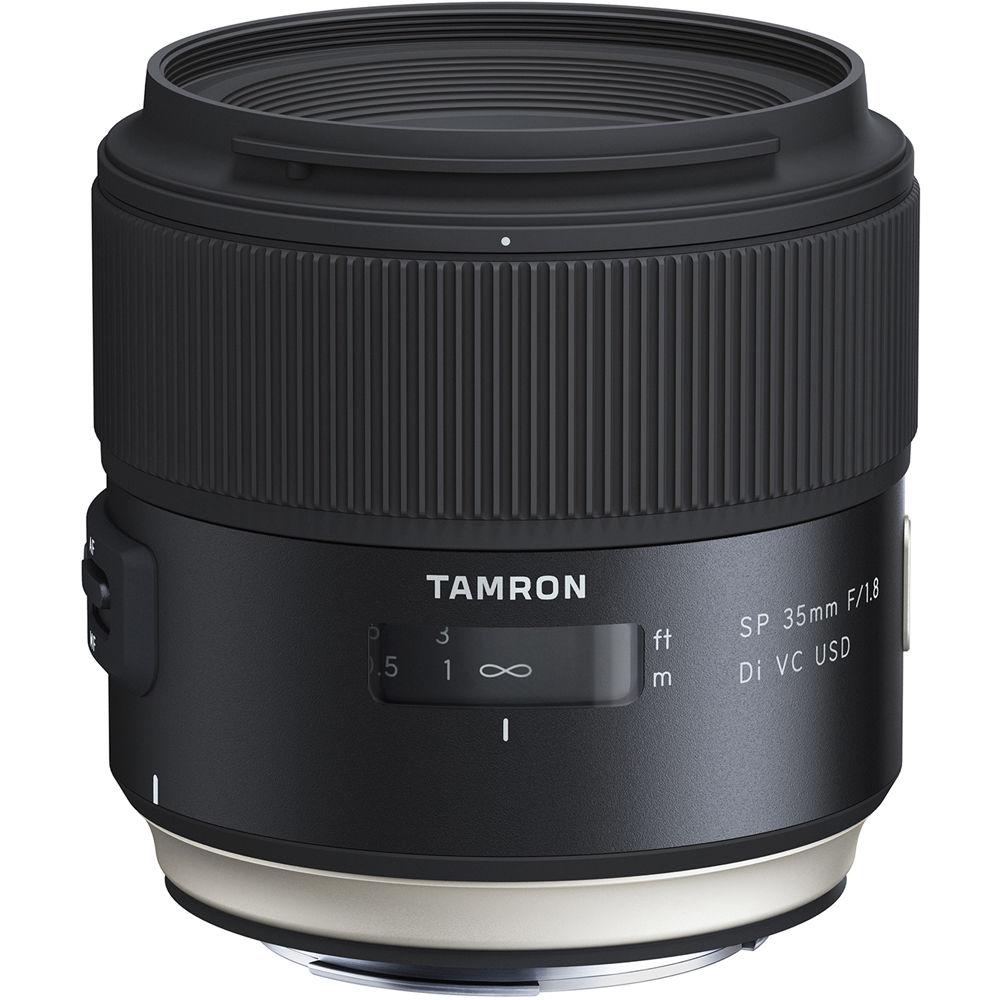 Tamron – Objetivo SP 35 mm f/1.8 DI VC USD / Nikon