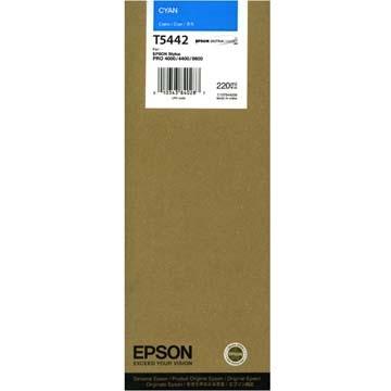 Cartucho de Tinta EPSON 220 ml- T5442 Cian (7600/9600)