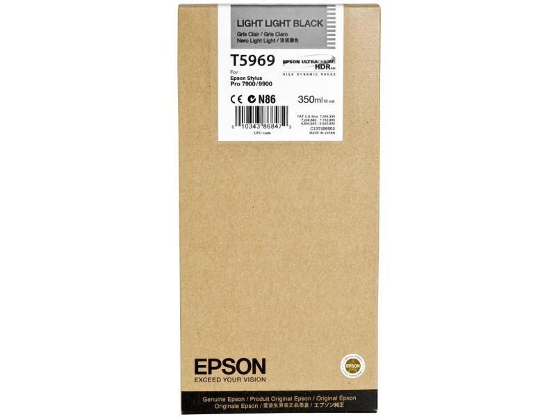 Cartucho de Tinta EPSON 350 ml- T5969 Gris claro (7900/9900/7890/9890/7700)