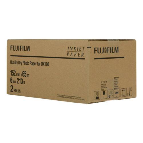 Fuji Papel DX100 DE100 152mmx65m 2 rolls