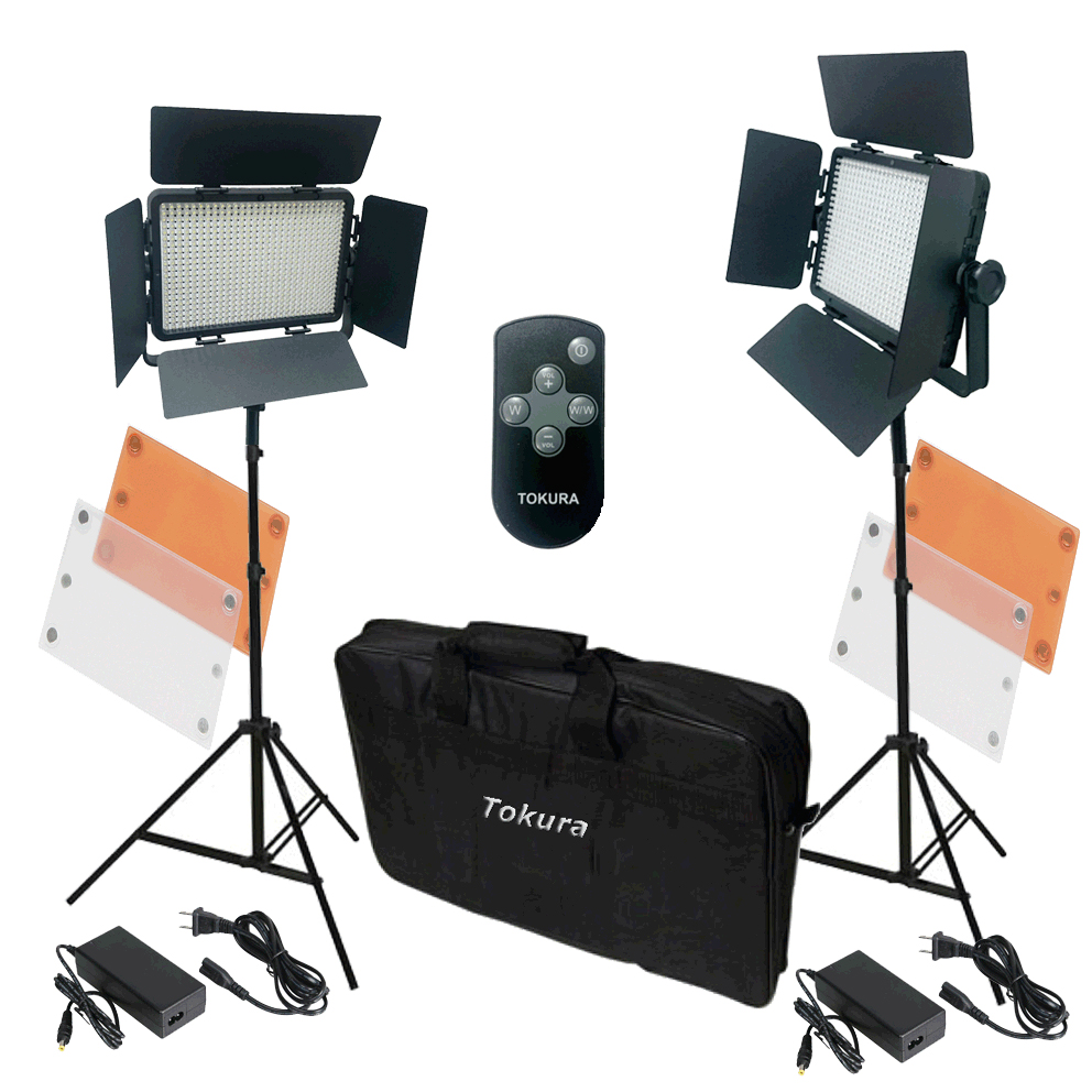 Tokura Borneo T1200 Kit Antorchas Flash Estudio LED  -10%
