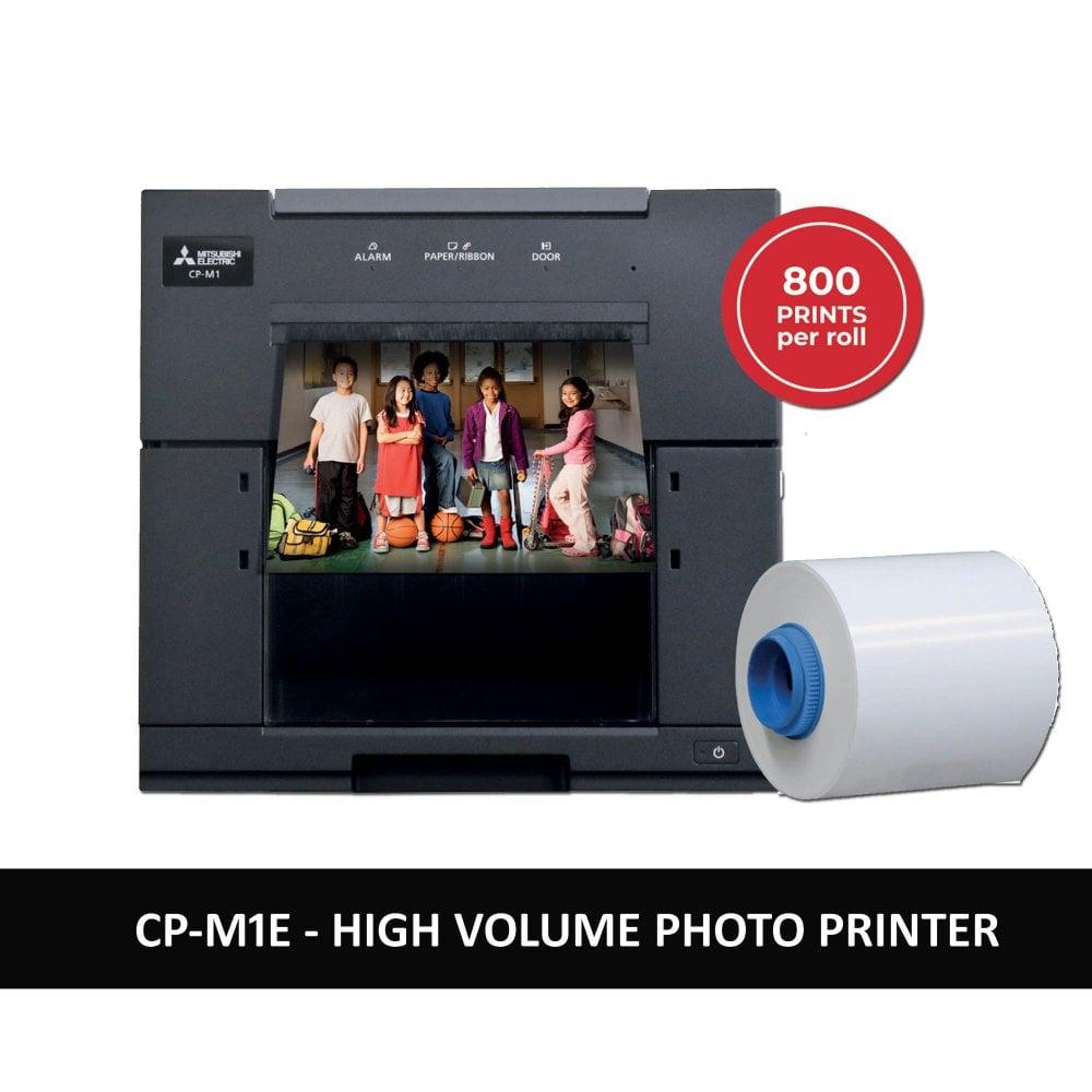 Impresora de Alta Capacidad Mitsubishi CP-M1E + 1 carga M68S GRATIS