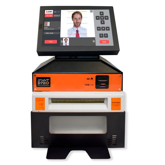 Sistema Smart D70iD+ Plataforma de Impresión de Fotos de Carnet