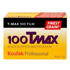 Kodak Professional Película Negativo Blanco y Negro T-MAX 100 ISO 135/36