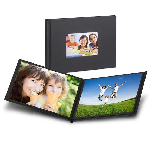 Easy Album con Ventana Frontal Mitsubishi Easygifts 15×20 cm (6×6 pulgadas) 12 páginas