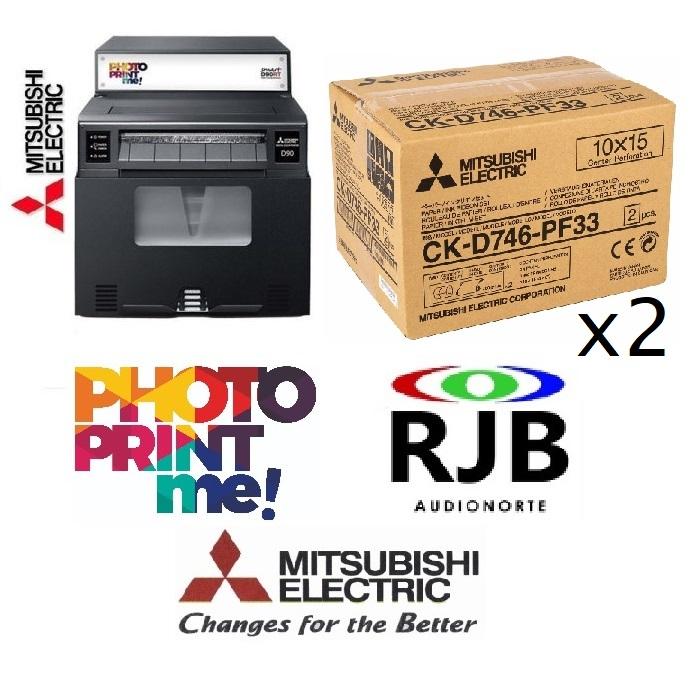 Impresora Mitsubishi Smart D90RT + 1 año PhotoPrintMe! GRATIS