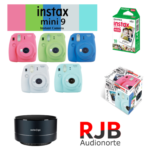 Kit-Navidad-Fuji-Instax-Mini-9-Altavoz-10-Cargas-Instax