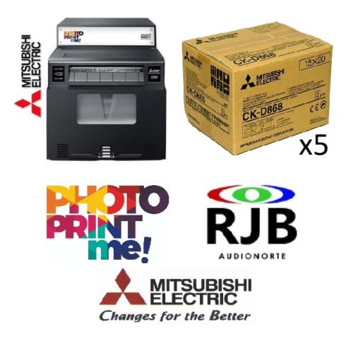 Mitsubishi Smart D90RT PhotoPrintMe 5 cajas