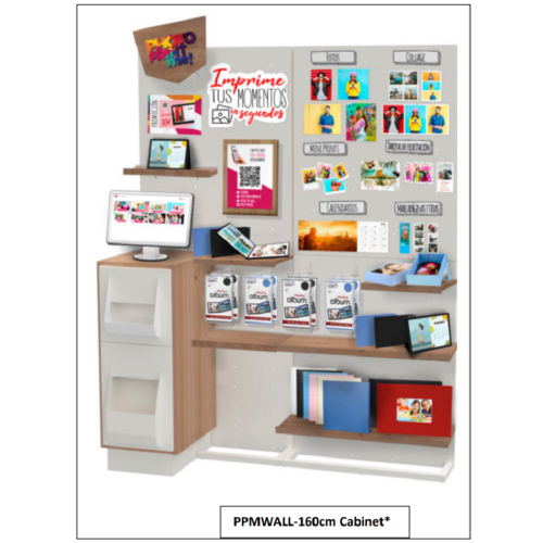 RJB Mueble Expositor Mitsubishi Cabinet 160cm