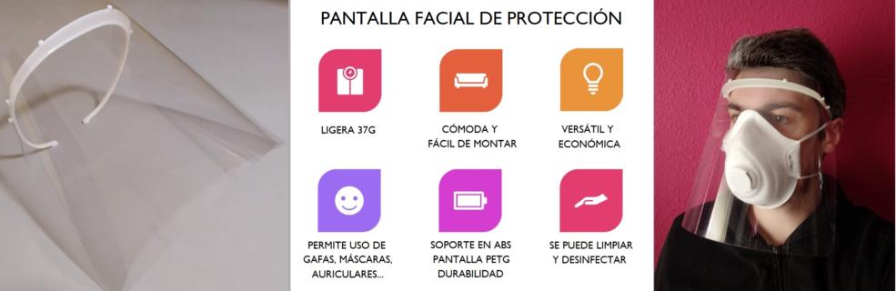 Pantalla Visera Protector Covid19