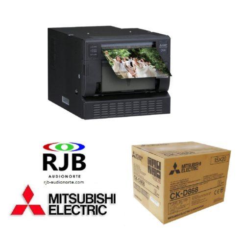 2020 RJB Mitsubishi CP-D90DW-P CKD868