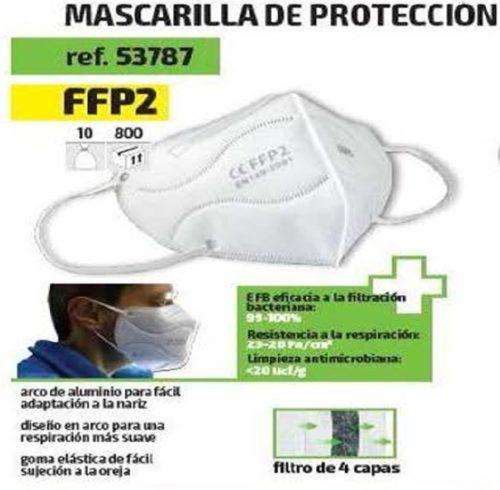RJB Mascarilla FFP2 Covid 19