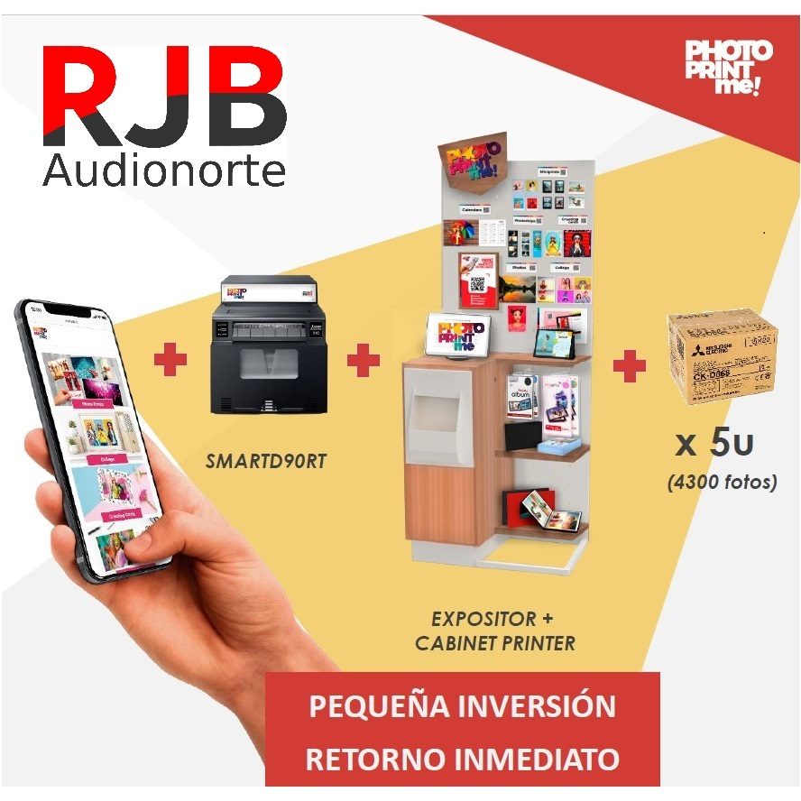 RJB Combo Mitsubishi Smart D90RT Mueble Expositor